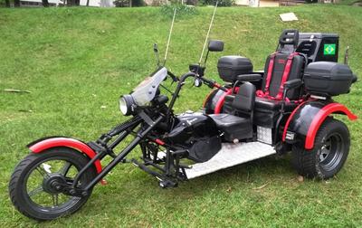 Triciclo Riguete Ano 2012 Motor Ap1.8 Modelo Junior Se