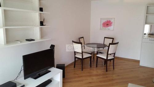 Imagem 1 de 19 de Flat Com 2 Dormitórios Para Alugar, 64 M² Por R$ 8.500,00/mês - Itaim Bibi - São Paulo/sp - Fl3315