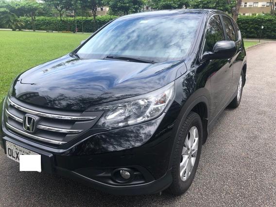 Honda Crv Lx Aut. Pneus Novos, Documento Pago, Bco Couro