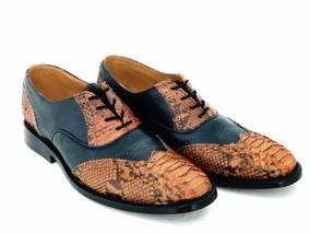 Zapatos Louis Vuitton Tipo , Becerro Y Pitón 100% Original.