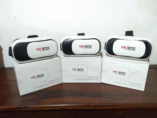 Lentes Realidad Virtual 3d Android iPhone Vr Box