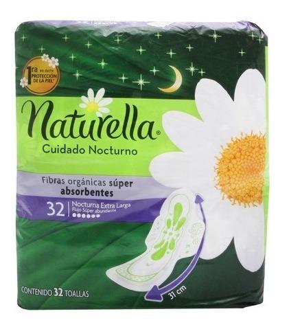 Naturella Toallas Femeninas Con Alas Paquete 32 Piezas