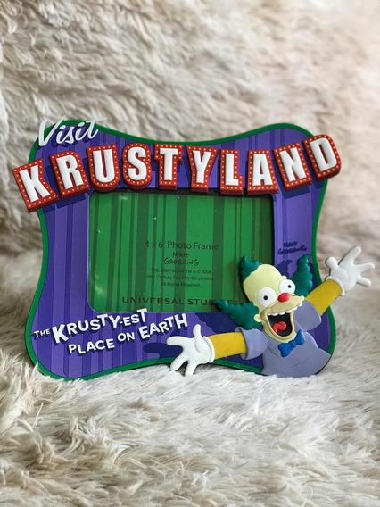 Porta Retrato Importado Universal Orlando Simpsons Krusty