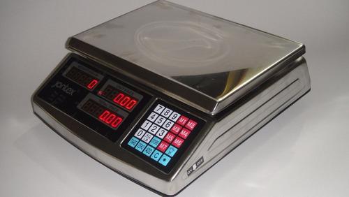 Balanza Mostrador Digital Acero Inoxidable 40kg/88lbs Jontex