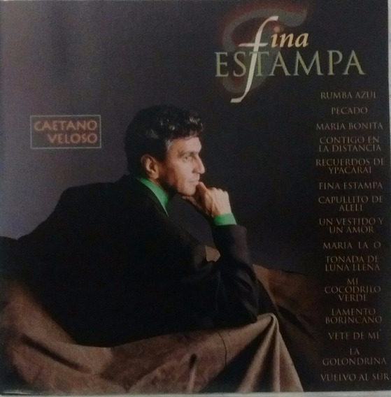 Cd - Caetano Veloso - Fina Estampa