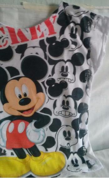 Blusa Feminina Do Mickey-malha