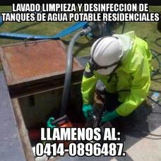 Lavado Limpieza Y Desinfeccion De Tanques De Agua Blancas.