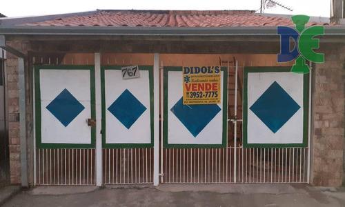 Imagem 1 de 13 de Casa Com 2 Dormitórios À Venda, 112 M² Por R$ 200.000,00 - Cidade Salvador - Jacareí/sp - Ca0744