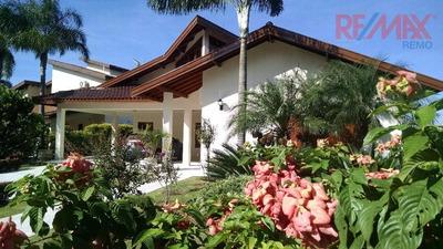 Casa Residencial Para Locação, Condomínio Chácara Flora, Valinhos. - Ca4570