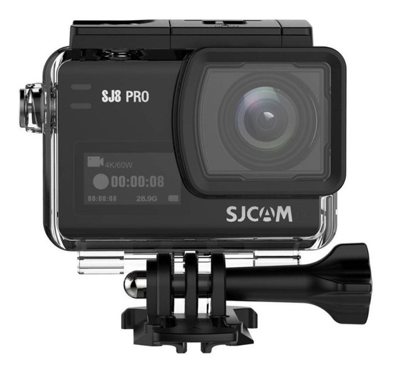 Câmera De Ação Esportiva Sjcam Sj8 Pro Original 4k 60fps Wifi 12mp Type-c