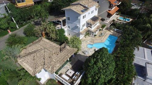 Imagem 1 de 30 de Casa Com 4 Dormitórios À Venda, 600 M² Por R$ 2.200.000,00 - Badu - Niterói/rj - Ca16698
