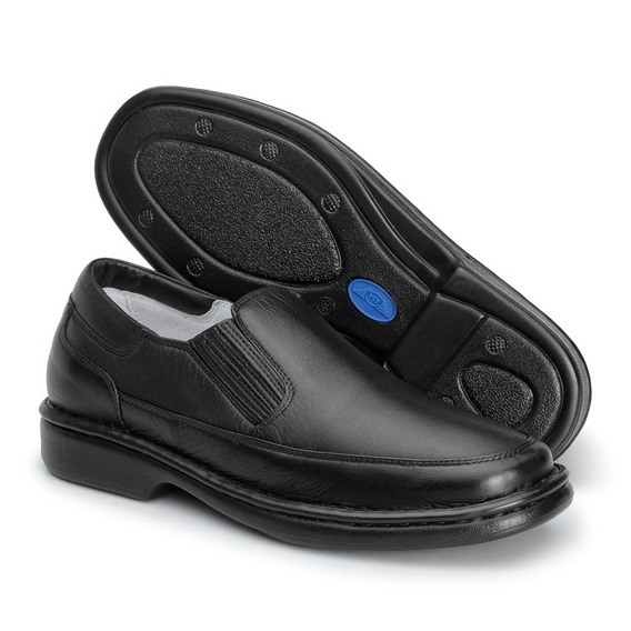 Sapato Masculino Couro Conforto Leve Asa 1709 Frete Grátis