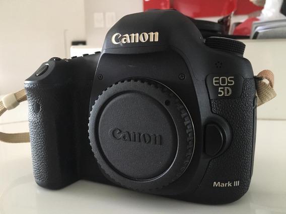 Camera Canon Eos 5d Mark Iii Novissima Uso Doméstico 8kclick