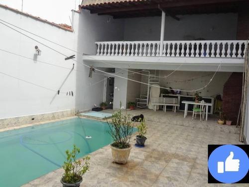Sobrado Com 4 Dormitórios À Venda, 329 M² Por R$ 1.600.000 - Mooca - São Paulo/sp - So1800