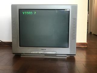 Televisor Sony Trinitron Funciona!!!