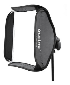 Softbox Speedlight 60x60cm Para Flash Canon,nikon,sony,etc