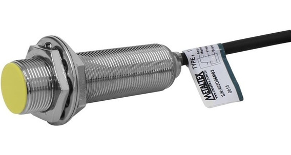 Kit 5 Sensores Indutivos 18mm-5mm Na+nf Npn 24vcc I18-5-dnc