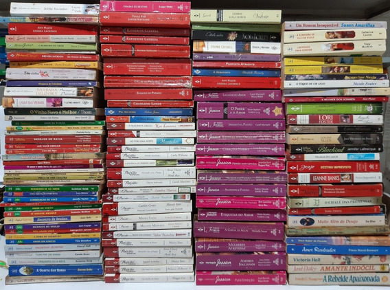 Lote 06 Livros Romances Julia Bianca Sabrina Diversos