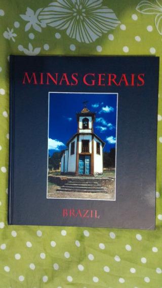 Livro Capa Dura Apresentação Turismo Minas Gerais Inglês !!!