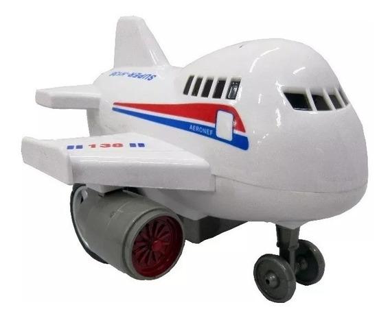 Avião Com Super Fricção Metropolis - Cod 9171