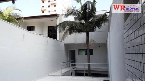 Imagem 1 de 30 de Sobrado Com 3 Dormitórios À Venda, 275 M² Por R$ 1.200.000,00 - Parque Das Nações - Santo André/sp - So0227