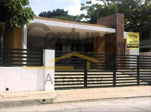Casa Residencial De 1 Nivel En Venta, Col. Lomas De Rosales, Tampico, Tamps.