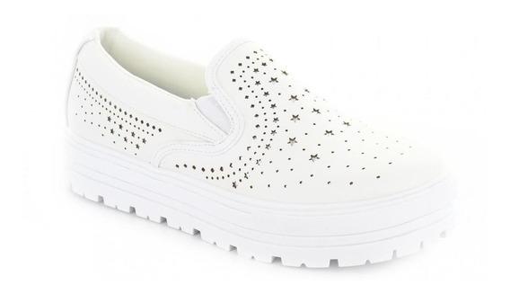 Tenis Para Mujer Redberry 6515-046363 Color Blanco