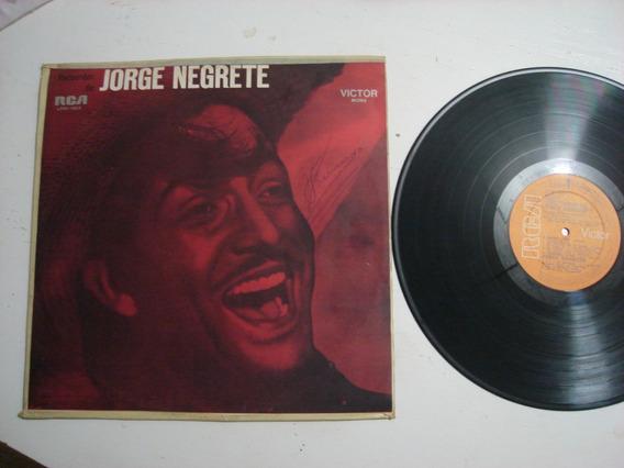 Lp Jorge Negrete Recuerdos Importado Uruguay