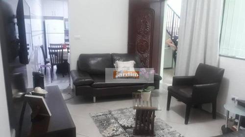 Sobrado Com 4 Dormitórios À Venda, 213 M² Por R$ 640.000,00 - Taboão - Diadema/sp - So2639