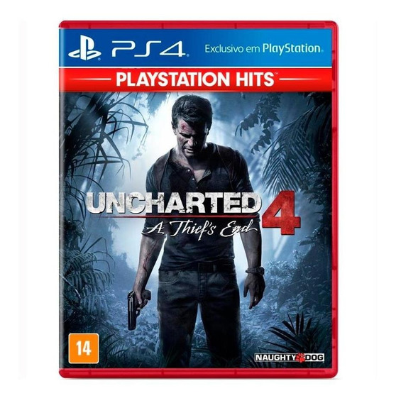 Uncharted 4 A Thief´s End Hits Ps4
