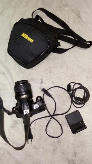 Nikon D 3000 Usada Bom Estado