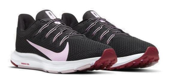 Tênis Running Nike Feminino Quest 2 Ci3803-006 Preto/purple