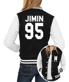 Jaqueta College Feminina Kpop Bts Integrantes Jimin 95