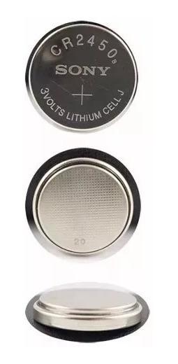 Bateria Sony Cr2450 100% Original - Pack 3 Unidade