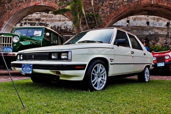 Renault Alliance 1986 4 Puertas Bonito