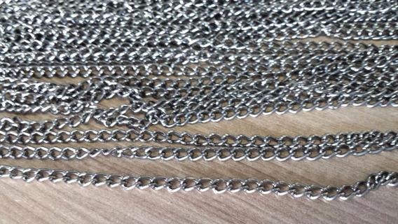 Corrente Onix Nº 1 Alumínio 10 Metros Colares Biju