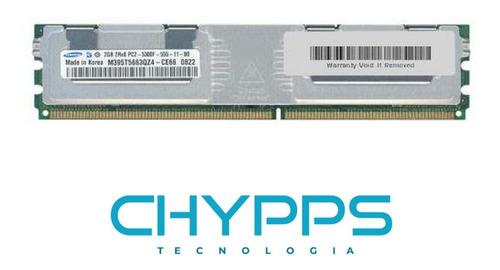 Imagem 1 de 1 de Memória P/servidor Samsung 2gb Pc2 5300f - M395t5663qz4-ce66