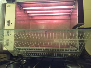 Horno Eléctrico Simplex C/grill Y Spiedo