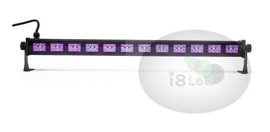 Ribalta Led Luz Negra Uv Efeito Neon 65cm 12 Leds