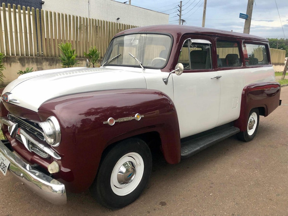 Chevrolet Pick-up / Suv Amazona 1962 6cc Raridade Original