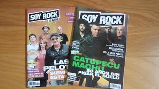 Lote 2 Revistas Soy Rock 2014 Catupecu/las Pelotas