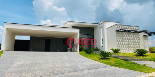 Bela Casa No Condomínio Fazenda Kurumin - Ca0342