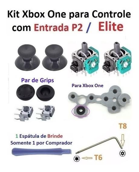 Kit Reparo Controle Do Xbox One P2 / Elite - Aazxs