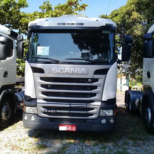 Scania R 440 2018  Pouco Rodada Com Retarder 4010