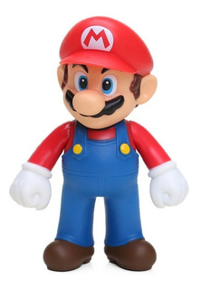 Boneco Super Mario Bros Miniatura 13 Cm Pronta Entrega!