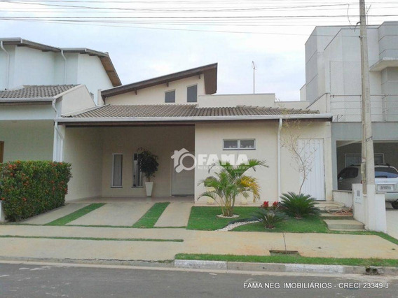 Casa Residencial À Venda, Condomínio Terras Do Fontanário, Paulínia - Ca1261. - Ca1261