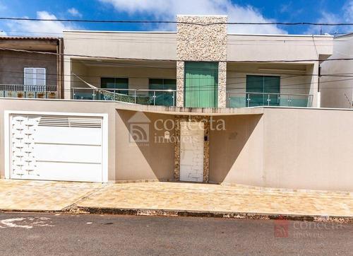 Casa Com 3 Dormitórios À Venda, 217 M² Por R$ 650.000,00 - Jardim Dos Calegaris - Paulínia/sp - Ca1100