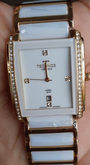 Relógio Technos Feminino Ceramic Safira Lançamento