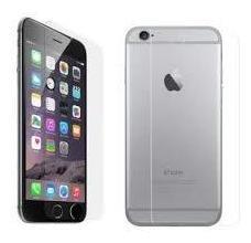 Vidrio Templado Trasero  iPhone 6