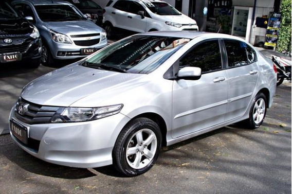 Honda City Sedan Dx 1.5 Flex Manual Prata 2011